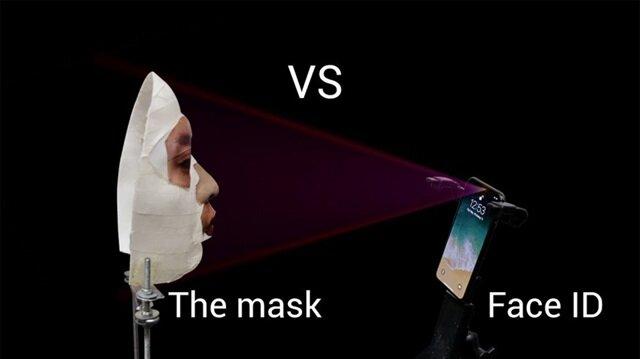 iPhone X'in güvenlik sistemi maskeyle aşıldı