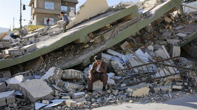 Türk Kızılayı'nın deprem bölgesine 55 tır yardım gönderdiği açıklandı.