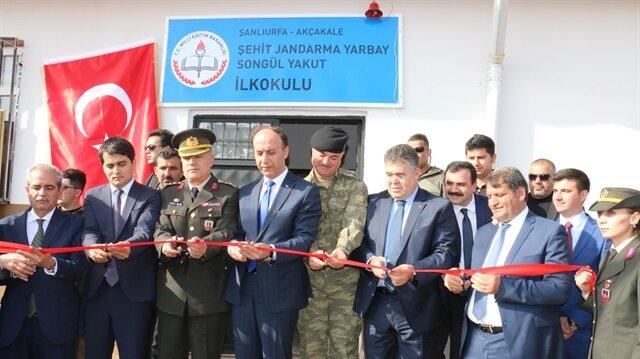 Okulun açılışı Şanlıurfa Valisi Abdullah Erin ve çok sayıda askeri ve bürokratik yetkili katıldı