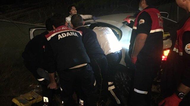 Adana'da esrarengiz kaza: 1 ölü 1 yaralı