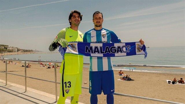 Malaga'nın Türk kalecisi Cenk Gönen, bu sezon La Liga'da hiç forma giyemedi.