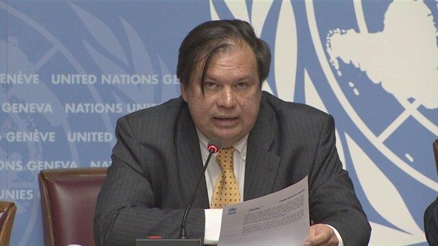 Birleşmiş Milletler Mülteciler Yüksek Komiserliği (BMMYK) sözcüsü William Spindler