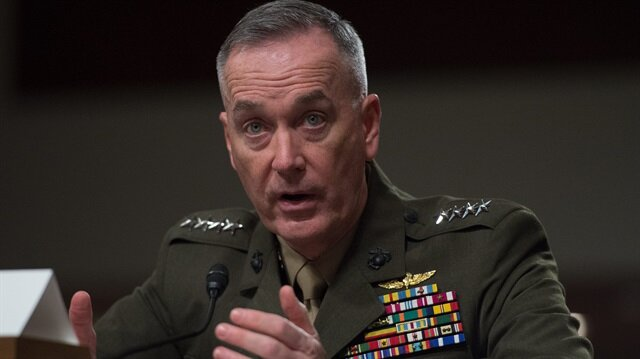 US Chairman of the Joint Chiefs of Staff Gen. Joseph Dunford.