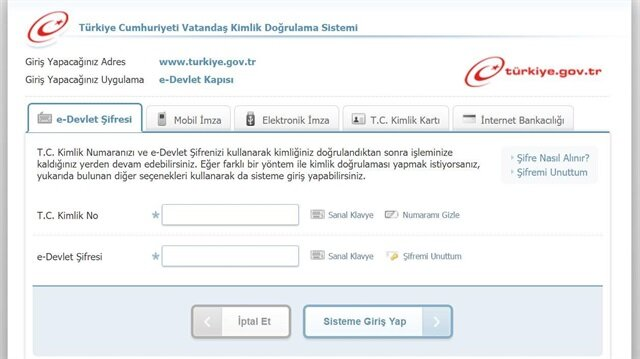 E-devlet'e engellilerle ilgili bir uygulama eklendi.