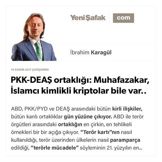 PKK-DEAŞ ortaklığı: Muhafazakar, İslamcı kimlikli kriptolar bile var..
