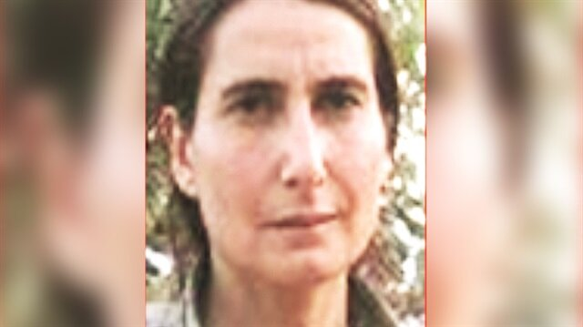 Kadın teröristin, kırmızı kategoride yer alıp yurt içinde bulunan tek terörist olduğu kaydedildi.