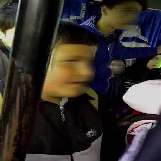 15 kişilik minibüsten 29 öğrenci çıktı