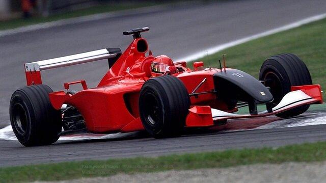 Michael Schumacher'in aracı rekor fiyata alıcı buldu