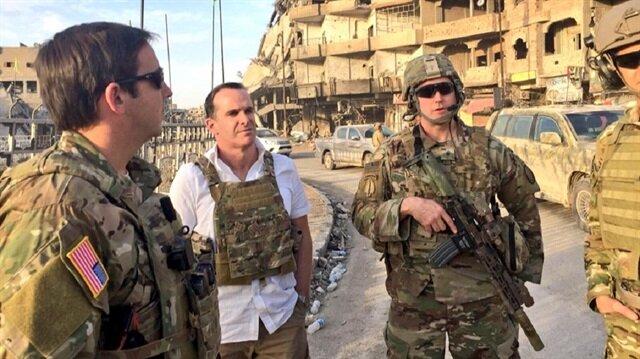 Trump'ın özel danışmanından DEAŞ'lılarla işbirliği yapan PKK'lılara ziyaret