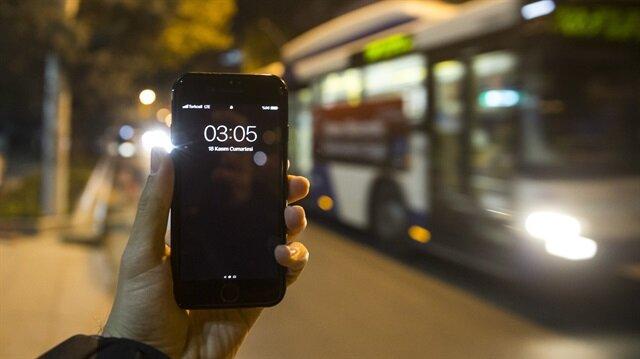 Başkentte EGO otobüsleri gece seferlerine başladı.