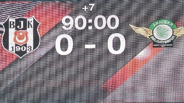 Beşiktaş Akhisarspor maç özeti haberimizde.