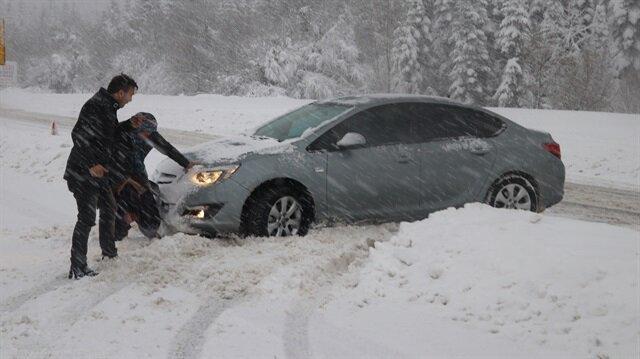 Batı Karadeniz'de 5 ile yoğun kar yağışı uyarısı