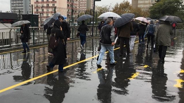 İstanbul'a yağmur Ankara'ya kar yağışı uyarısı