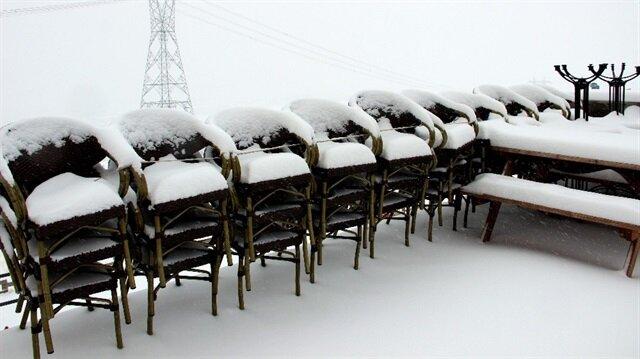 Kar yağışı etkisini artırıyor