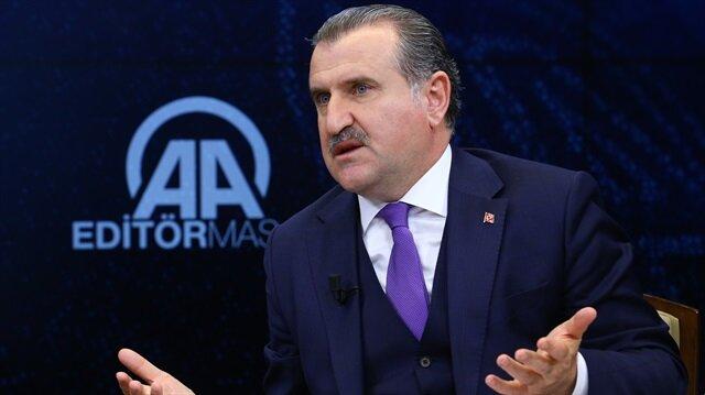Sports Minister Osman Aşkın Bak
