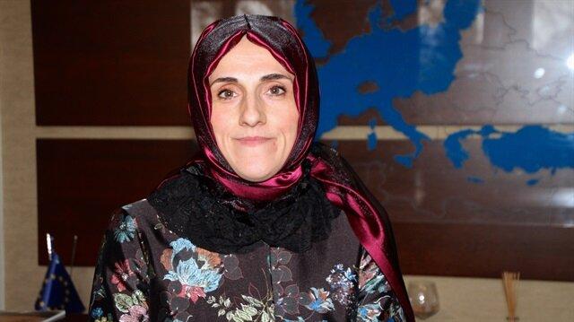 UETD Kadın Kolları Başkanı Ayşe Aşut, savaşlarda en çok zarar gören kesimin kadınlar olduğunu söyledi.