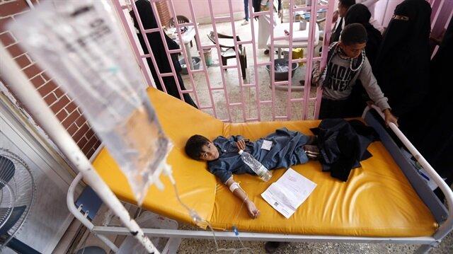 Yemen'deki kolera salgını bilançosu artıyor