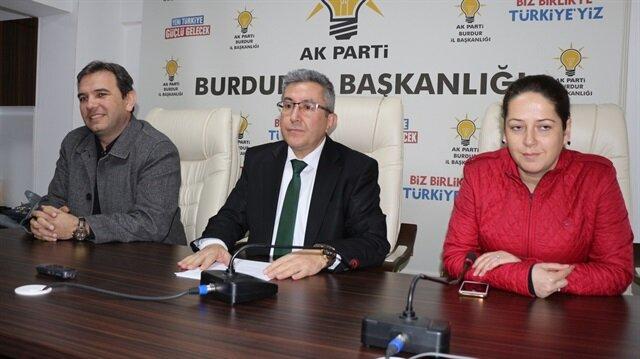 Görevinden istifa eden AK Parti Burdur İl Başkanı Süleyman Faki