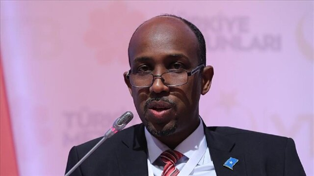 omalia's public works, reconstruction and housing minister Sadiq Abdullahi Abdi