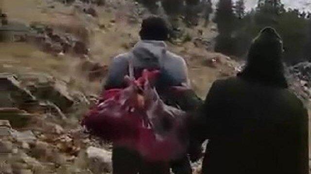 Dağ keçisi avına 16 bin lira ceza