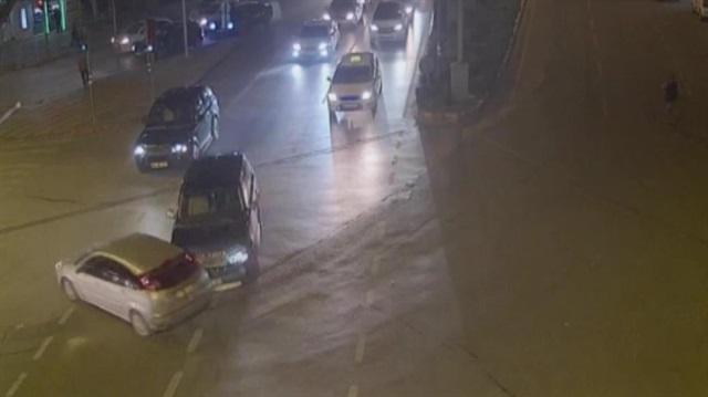 Trafik kazaları MOBESE kamerasında