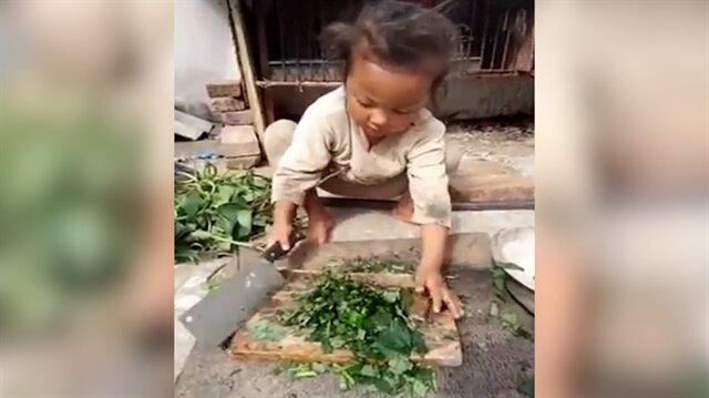 10 yaşındaki Çinli kızın görüntüleri izlenme rekorları kırıyor