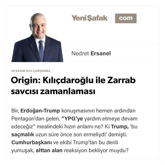 Origin: Kılıçdaroğlu ile Zarrab savcısı zamanlaması