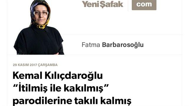 """Kemal Kılıçdaroğlu """"İtilmiş ile kakılmış"""" parodilerine takılı kalmış"""