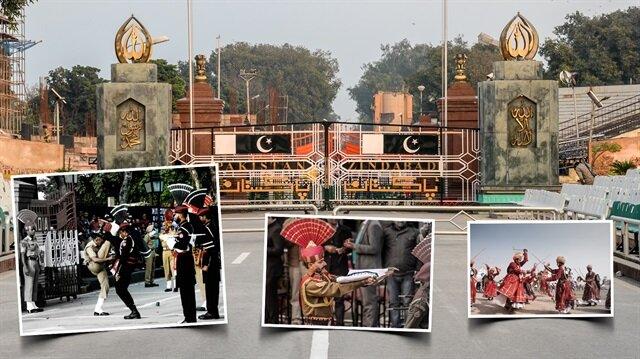 70 yıldır her gün törenle açılıp kapanan sınır kapısı: Wagah