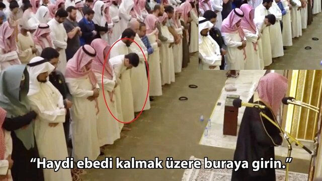 Yere yıkan Kur'an-ı Kerim tilaveti!