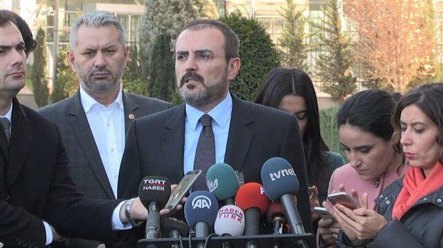 AK Parti Sözcüsü Mahir Ünal'dan Reza Zarrab açıklaması
