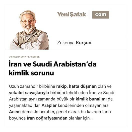 İran ve Suudi Arabistan'da kimlik sorunu