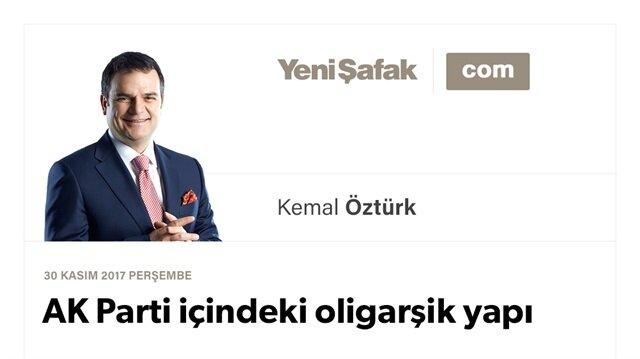 AK Parti içindeki oligarşik yapı