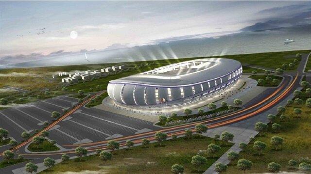 Yeni stadın deniz tarafındaki bölümünün otel olarak kullanılması planlanıyor.