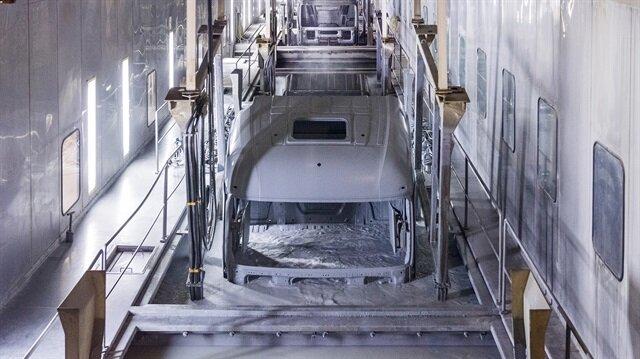3 kamyondan 2'si Aksaray'da üretiliyor