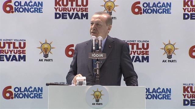Cumhurbaşkanı Erdoğan CHP'nin yeni ismini açıkladı