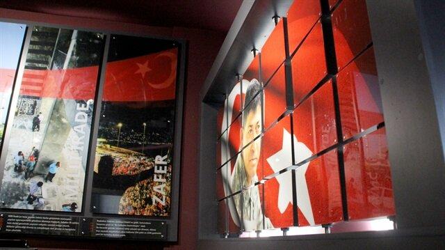 Şehit Halisdemir'in anıları kültür merkezinde yaşatılıyor