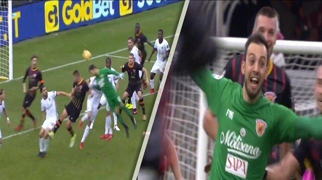 Benevento kalecisinden 90+5'te Milan'ı yıkan gol