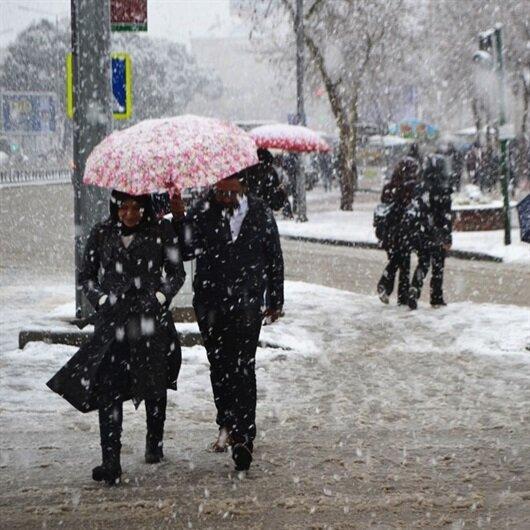 Meteorolojiden Isparta ve Burdur için kar yağışı uyarısı