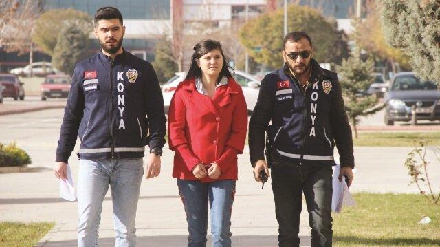 9 aylık bebeği uğruna elini kana bulayan Azer baycan uyruklu Aysel E., çıkarıldığı mahkemece tutuklanarak cezaevine gönderilmişti.