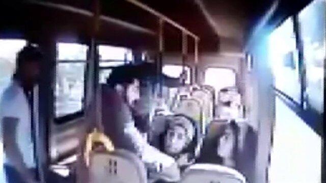 Üniversiteli kızı minibüsten böyle kaçırdılar!