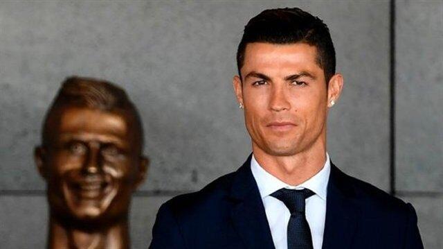 Portuguese soccer player Cristiano Ronaldo