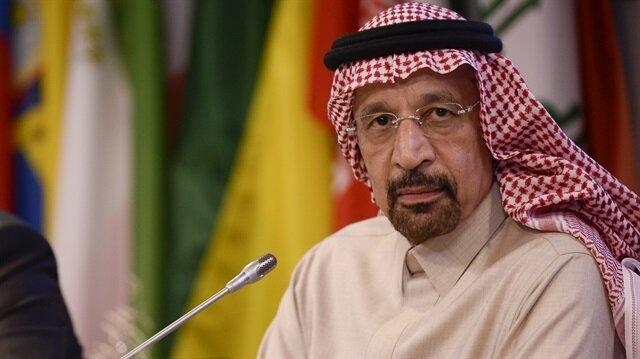 Saudi Arabian energy minister Khalid al-Falih