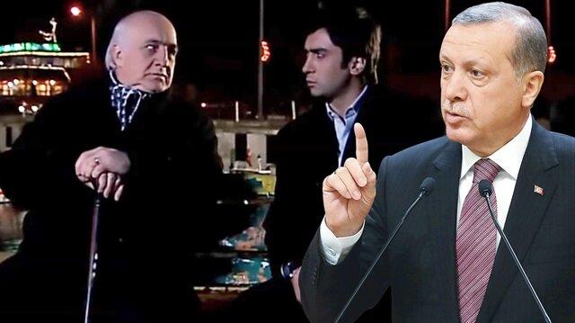 Erdoğan'ın hatırlattığı 'cambaza bak oyunu' Kurtlar Vadisi'nde böyle işlenmişti