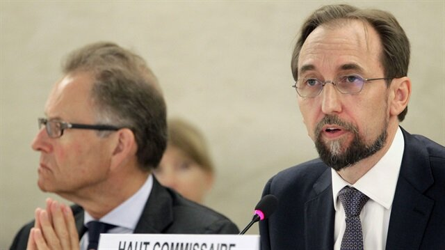 UN rights boss says can't rule out crime of genocide against Rohingya