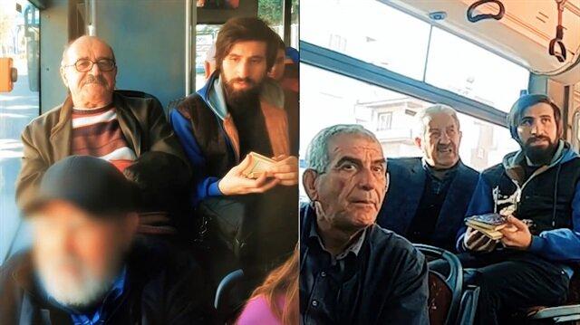 Otobüste Kur'an okuyan gence büyük tepki! (Sosyal deney)