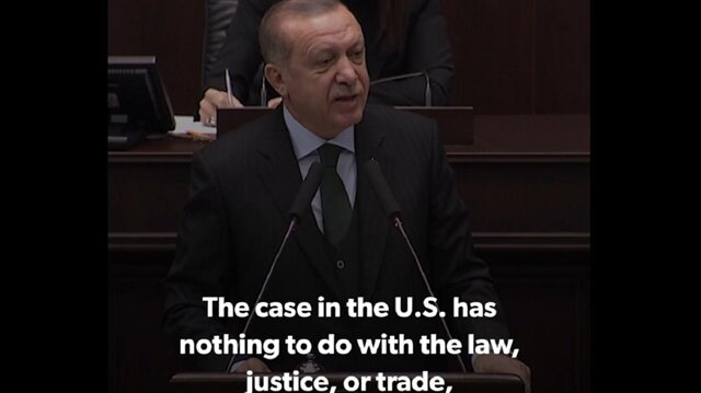 Erdoğan: Zarrab case in US is a coup attempt