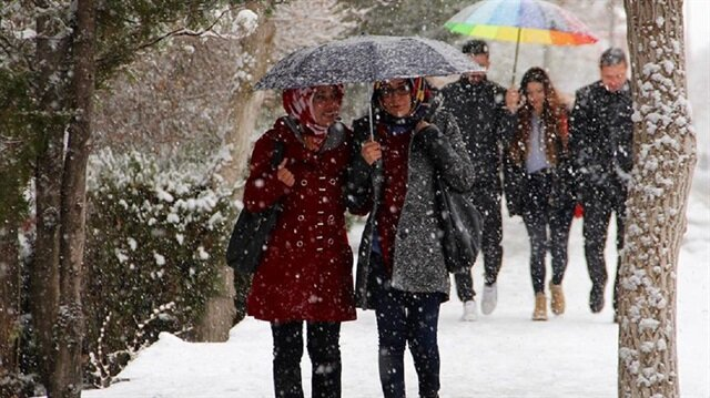 İstanbul, Ankara ve 12 ile yağış uyarısı