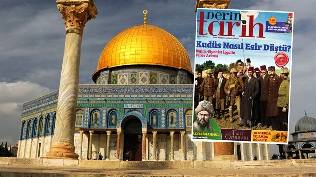 Derin Tarih'in Aralık ayı sayısında kapak dosyası Kudüs.