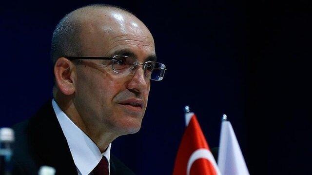 Turkish Deputy Prime Minister Mehmet Şimşek